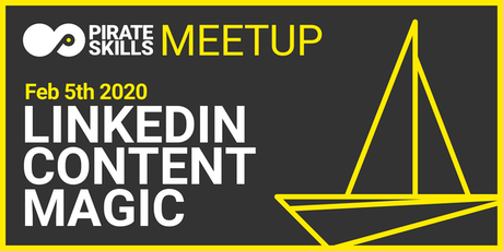 LinkedIn Content Magic | Meetup billets