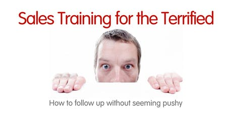 Sales Training for the Terrified tickets