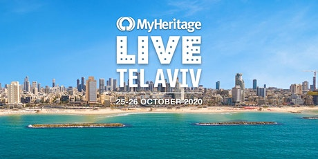 MyHeritage LIVE 2020 tickets