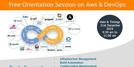 Free Orientation Session on AWS & DevOps Training.. tickets