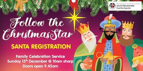 Santa Registration for Kids - Family Christmas Celebration tickets