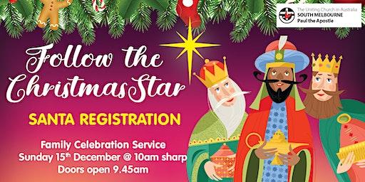 Santa Registration for Kids - Family Christmas Celebration