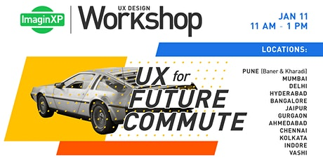 ImaginXP: UX Design workshop in Indore tickets