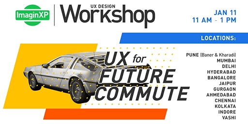 ImaginXP: UX Design workshop in Indore