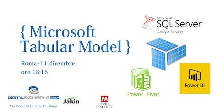 Microsoft Tabular Model biglietti