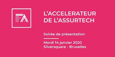 Pourquoi intégrer l'accélérateur French Assurtech ? @Bruxelles tickets