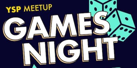 YSP Games Night tickets