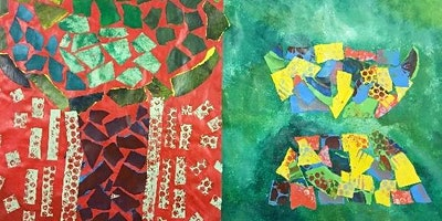 Home Educators Group - Abstract collage inspired by Matisse