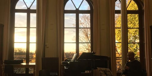 Récital trio piano clarinette violoncelle 24/01/2019