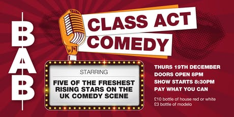Class Act Comedy Night tickets