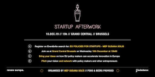 EU policies for Startups - Afterwork by MEP Susana Solís
