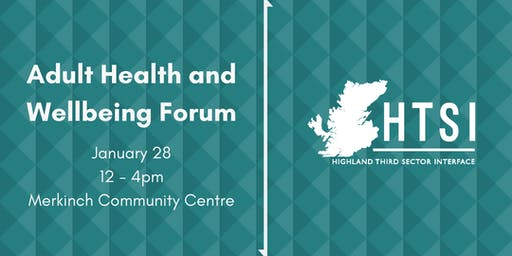 Adult Health and Wellbeing Forum