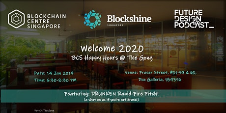 Welcome 2020 BCS Happy Hours @The Gong tickets
