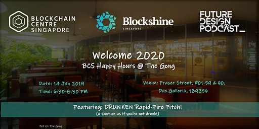 Welcome 2020 BCS Happy Hours @The Gong