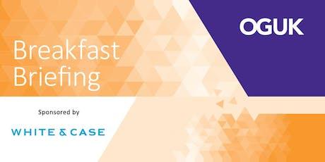 OGUK London Breakfast Briefing - Business Outlook (18 March 2020) tickets