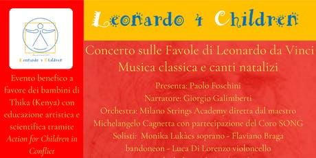 Leonardo 4 Children concerto biglietti