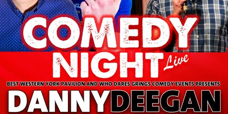 Comedy Night Live - Who Dares Grins tickets
