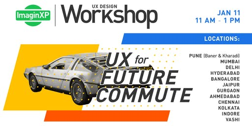 ImaginXP: UX Design workshop in Ahmedabad