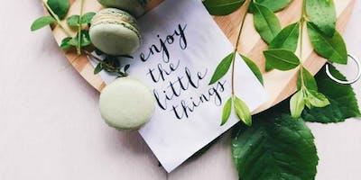 Handlettering für Fortgeschrittene – Thema Frühling | Workshop