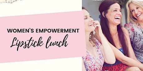 Women's Empowerment Lipstick Lunch tickets