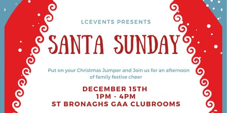 Santa Sunday tickets