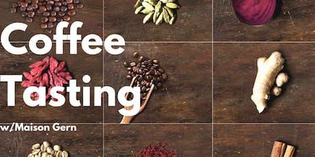 Coffee Tasting Maison Gern x Twostay tickets