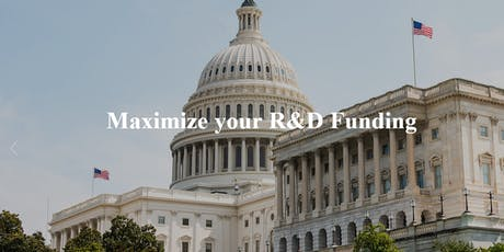 Federal Funding for DC-Based Deep Tech Companies tickets