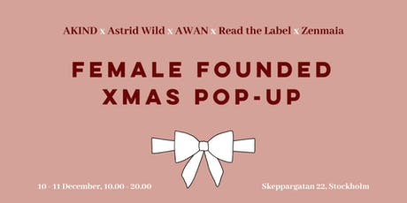 Female Founded Xmas Pop-Up tickets