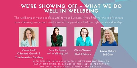 Wellbeing in Nottingham (WIN) tickets