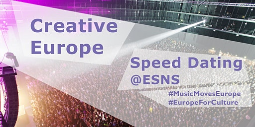 Creative Europe - Music Moves Europe : Speed Dating 2020