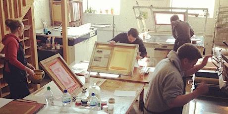 Screenprinting workshop (weekend) tickets