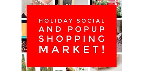 Holiday Social And Popup Shopping Market tickets