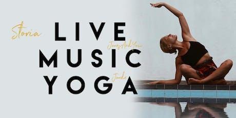 Storia Live Yoga @ F-Musiikki Helsinki tickets