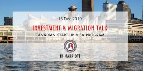 Canadian Start-Up Visa Program | 加拿大SUV計劃 tickets
