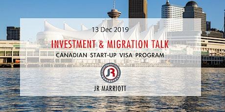 萬豪移民:加拿大投資移民講座 tickets