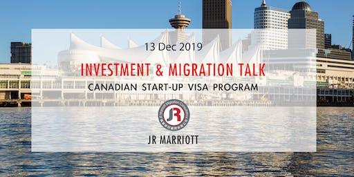 Canadian Start-Up Visa Program | 加拿大SUV計劃