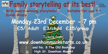 Traditional Christmas Storytelling At Its Best! tickets