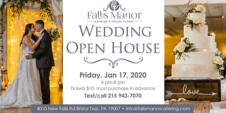 Winter Wedding Open House at Falls Manor tickets