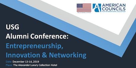 USG Alumni Conference: Entrepreneurship, Innovation & Networking tickets