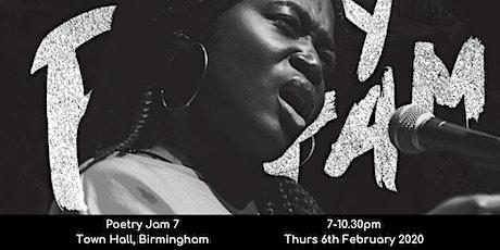 Poetry Jam Turns 7 tickets