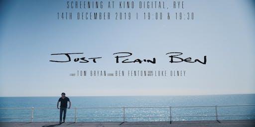 Just Plain Ben Documentary Screening