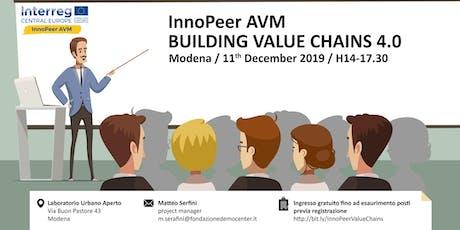 InnoPeer AVM - Building Value Chains 4.0 biglietti