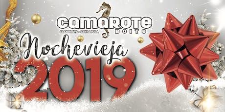 CAMAROTE NOCHEVIEJA 2019 entradas