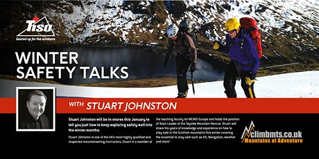 Winter Safety Lecture - with Stuart Johston (EDINBURGH) tickets
