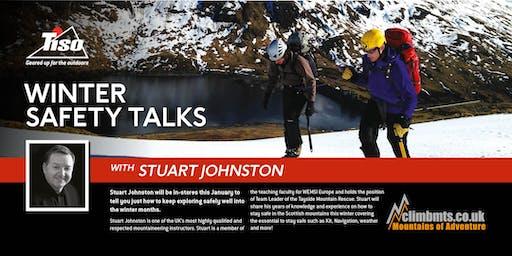 Winter Safety Lecture - with Stuart Johston (EDINBURGH)