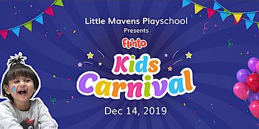 Flinto  Kids Carnival @ Little Mavens Playschool, Alkapur Township