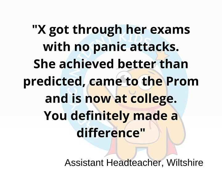 Exam Workshop - how to be confident as you walk into an exam situation. image