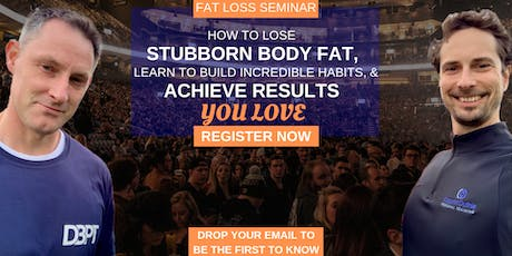 One Day Live Fat Loss Seminar With Two Of Edinburgh's Top PT's tickets