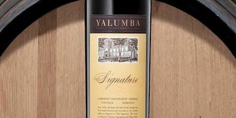 Yalumba Wine Tasting Night tickets