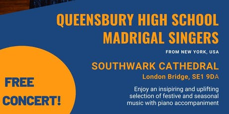 Free concert !  Queensbury High School Madrigal Singers tickets